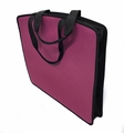 "Soft Touch 15""x18"" Canvas Padded Tote, Hot Pink"