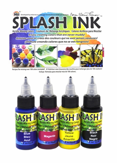 Splash Ink 4 Piece Set