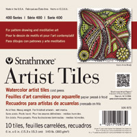 Strathmore Artist Tile, Watercolor, 10 tiles