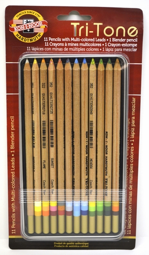 Tritone Colored Pencils, Set of 12