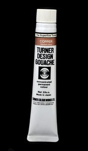 Turner Pearlized Metallic Gouache, Copper