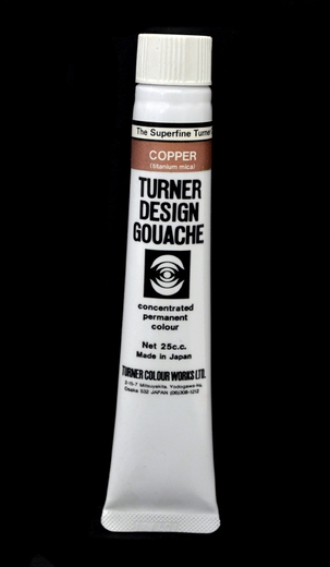Turner Pear Metallic Gouache Copper