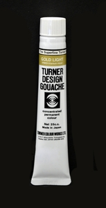 Turner Pear Metallic Gouache Light Gold