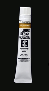 Turner Pear Metallic Gouache Orange Gold