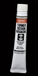 Turner Pearlized Metallic Gouache, Russet