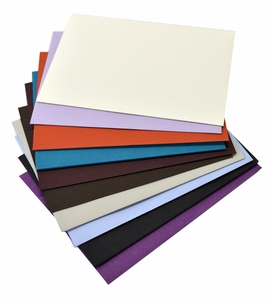 Waste Not Envelopes and Blank Cards, One of each color