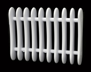 White Plastic Pen Rest/Drying Rack