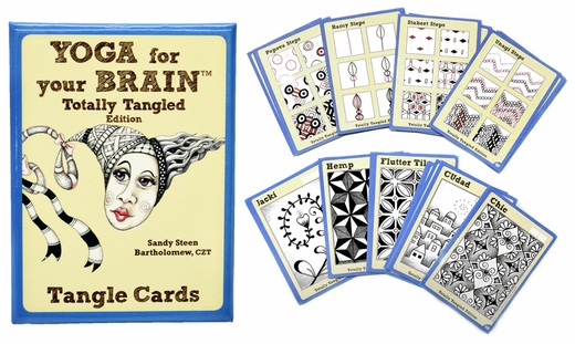 Yoga for Your Brain Tangle Cards, Totally Tangled Edition