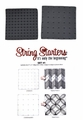 Zentangle String Starters Set #1, Pack of 2