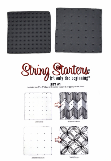 Zentangle String Starters Set #1