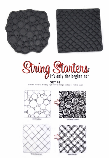 Zentangle String Starters Set #2