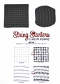 Zentangle String Starters Set #3, Pack of 2