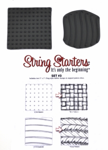 Zentangle String Starters Set #3