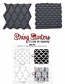 Zentangle String Starters Set #5, Pack of 2