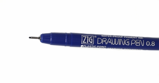 Zig Drawing Pen, PX-08