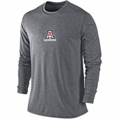 Arizona Wildcats Premium Long Sleeve Shooting Shirt