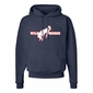 Wild Horse Custom Hanes Comfortblend Pullover Hooded Sweatshirt (Youth)