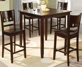 Avery 5-Pc Counter Height Dining Set