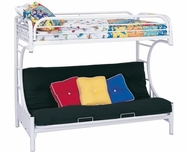 C Style Twin Over Full Futon Bunk Bed 2253W