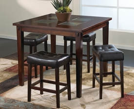 Deland 5-Pc Counter Height Dining Set