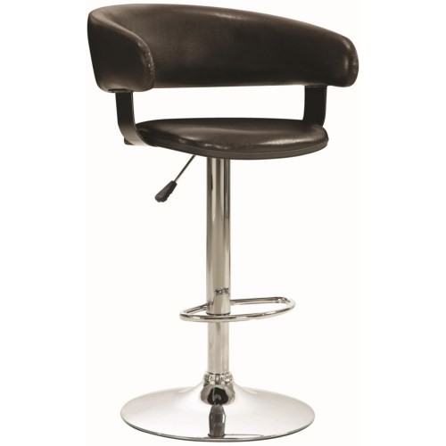 Gas Lift Bar Stool 122095 Dallas Designer Furniture 4 Less