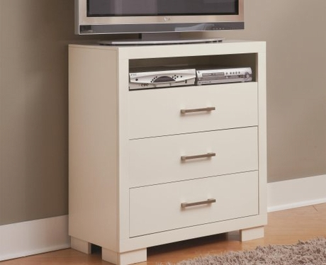 Jessica Media Chest W 3 Drawers By Coaster Furniture