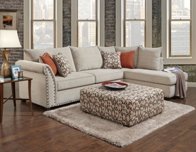 Norwood Sectional 500463 Dallas Designer Furniture 4 Less