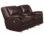 Soft Padded Pillow Top Arms Upholstered Motion Love Seat 600060L