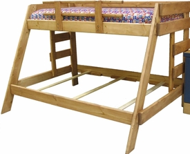 Twin/Full Pine Bunk Bed