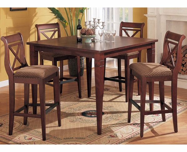 whitney 5 pc bar height dining set furniture 4 less dallas