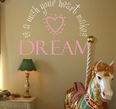 A Wish Your Heart Makes Custom Wall Decal