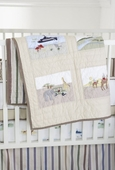 Adventure Patches Crib Quilt