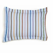Adventure Stripe Reversible Standard Sham