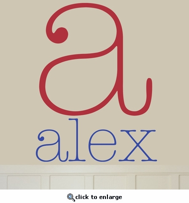 Alex Custom Personalized Wall Decal