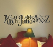 Alphabet Custom Wall Decal