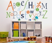 Alphabet Fun Custom Wall Decal
