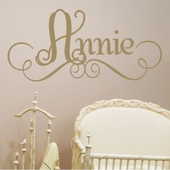 Annie's Custom Personalized Wall Decal