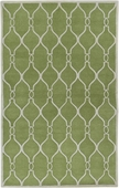 Apple Green Zuna Hand-Tufted Rug