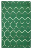 Arabesque Rug - Dark Green