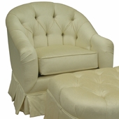 Aspen Cream Adult Park Avenue Glider Rocker Chair - Foam or Down