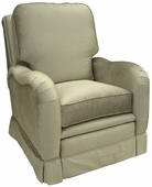 Aspen Silver Adult Kensington Recliner Chair - Foam or Down
