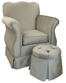 Aspen Silver Child Empire Chair