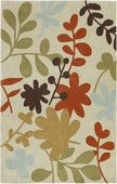 Autumn Leaves Light Cosmopolitan Hand-Tufted Rug
