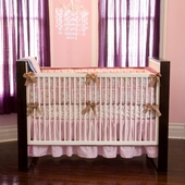 Ava 4-Piece Crib Bedding Set