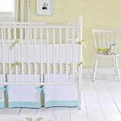 Baby Dayz in Green 2-Piece Crib Bedding Set