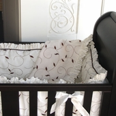 Baroque Cradle Bedding