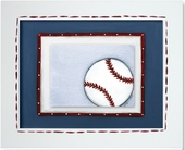 Baseball Custom Framed Giclee Print