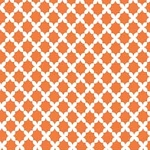Basket Weave in Tangerine Fabric