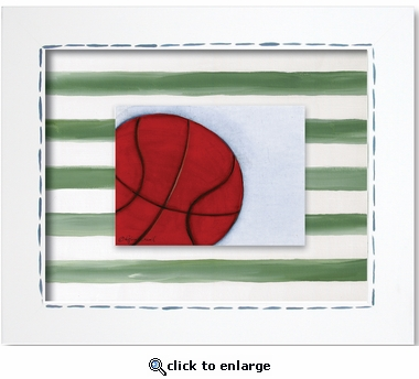 Basketball Custom Framed Giclee Print