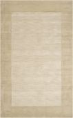 Beige Border Mystique Hand-Crafted Rug